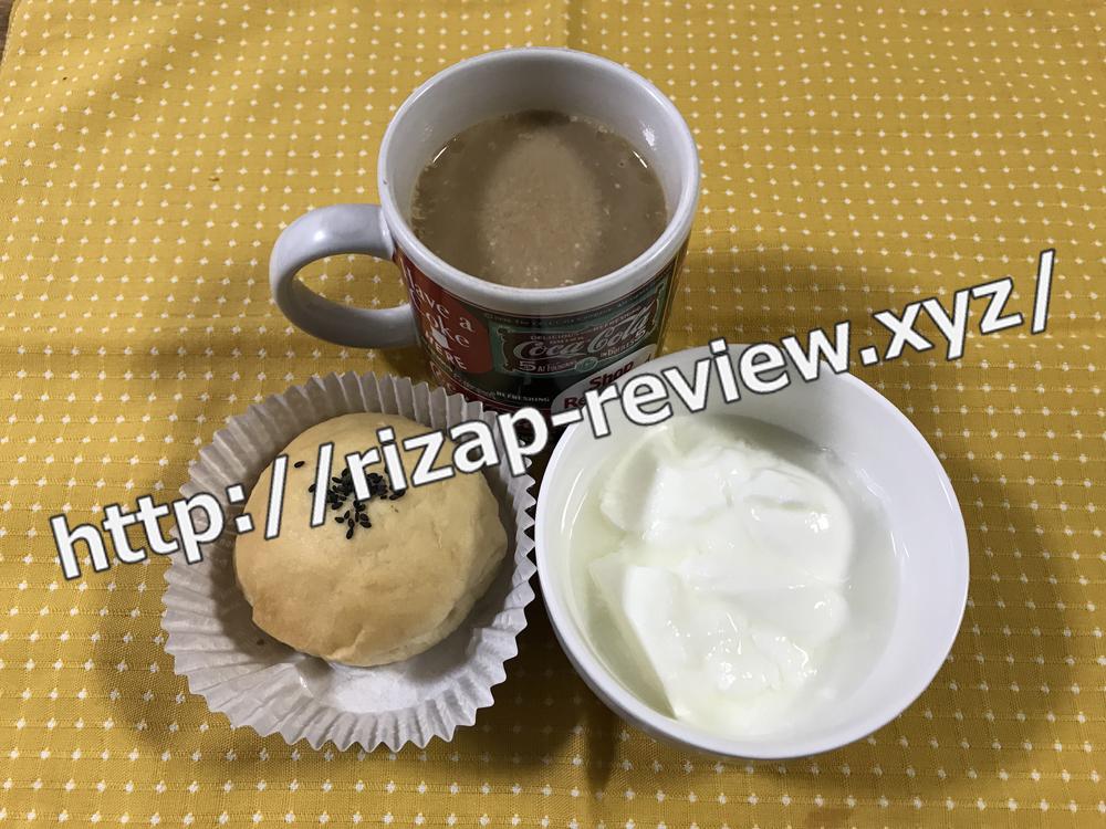 2019.1.22(火)ライザップ流の朝食