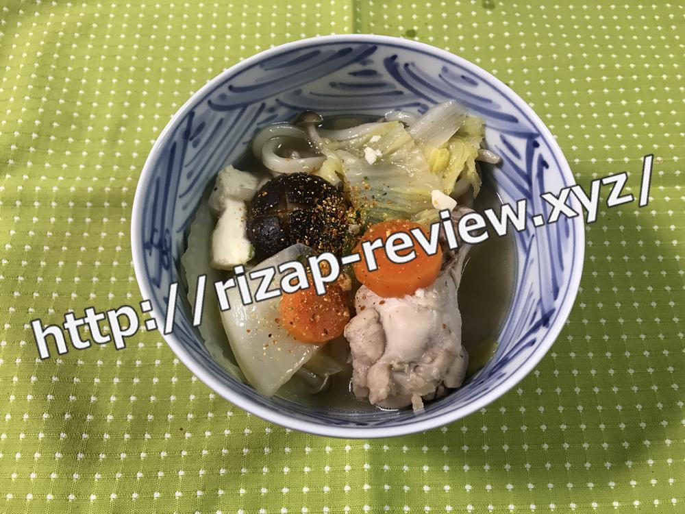 2019.1.22(火)ライザップ流の夕食