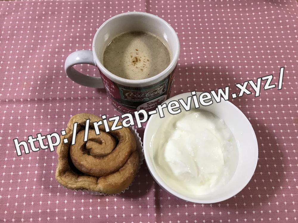 2019.1.23(水)ライザップ流の朝食