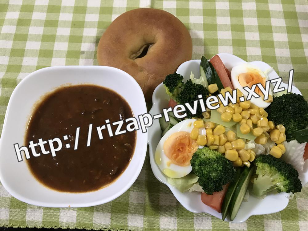 2019.1.24(木)ライザップ流の昼食