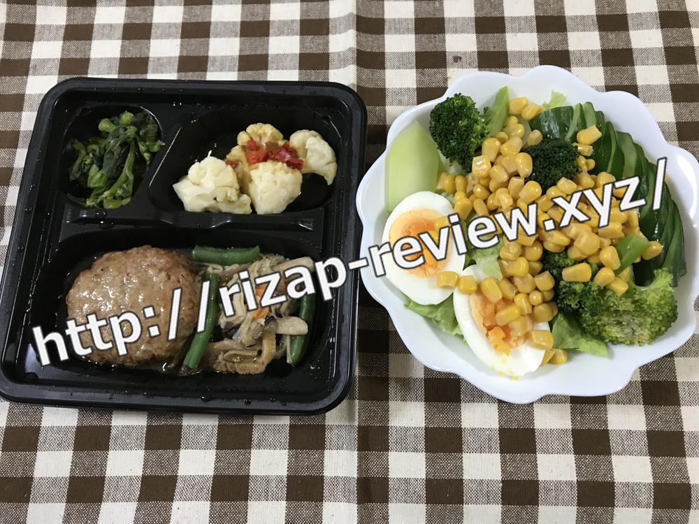 2019.1.29(火)ライザップ流の昼食