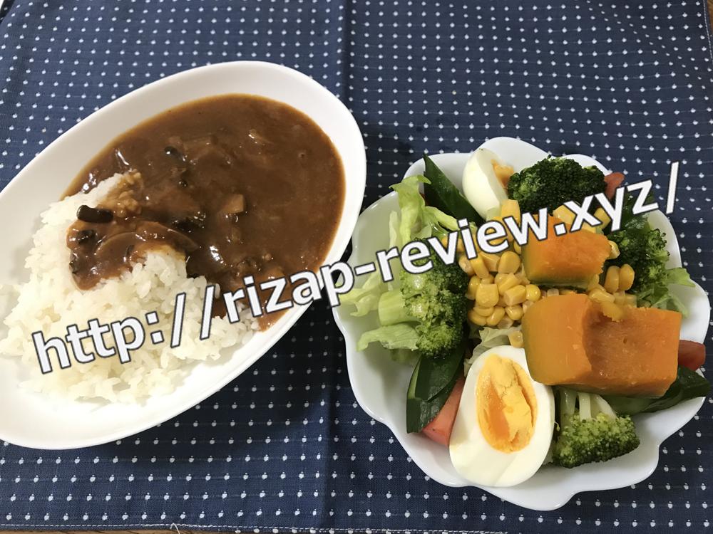 2019.1.30(水)ライザップ流の昼食