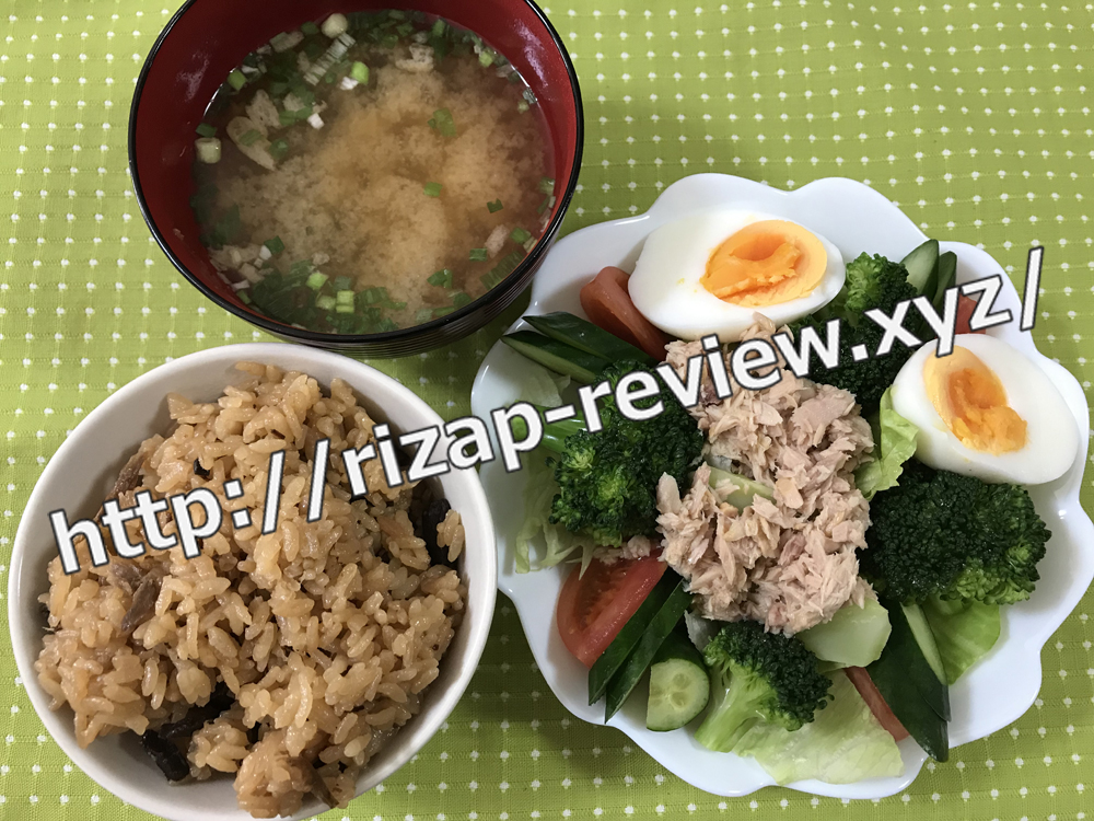 2019.2.3(日)ライザップ流の昼食
