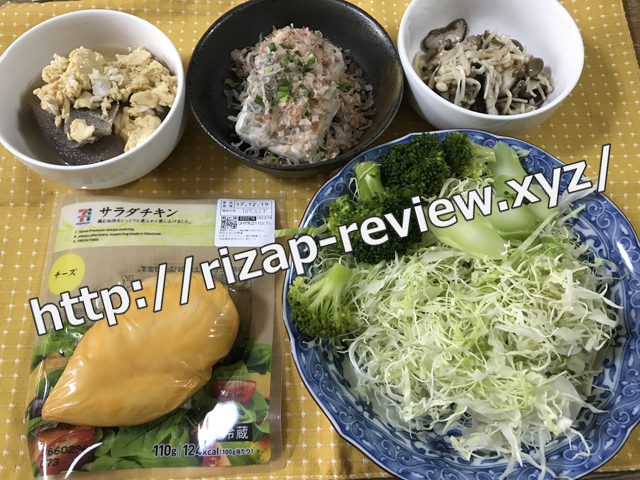 2017.12.7(木)の昼食