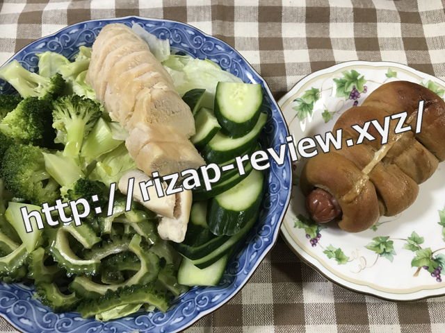 2018.8.10(金)の昼食