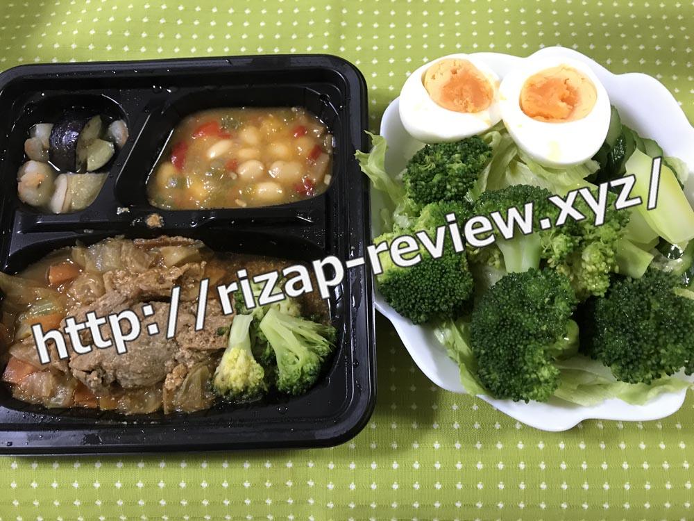 2018.9.16(日)ライザップ流の昼食