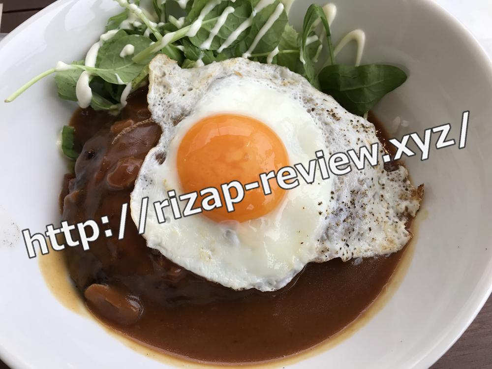 2018.11.4(日)ライザップ流の昼食