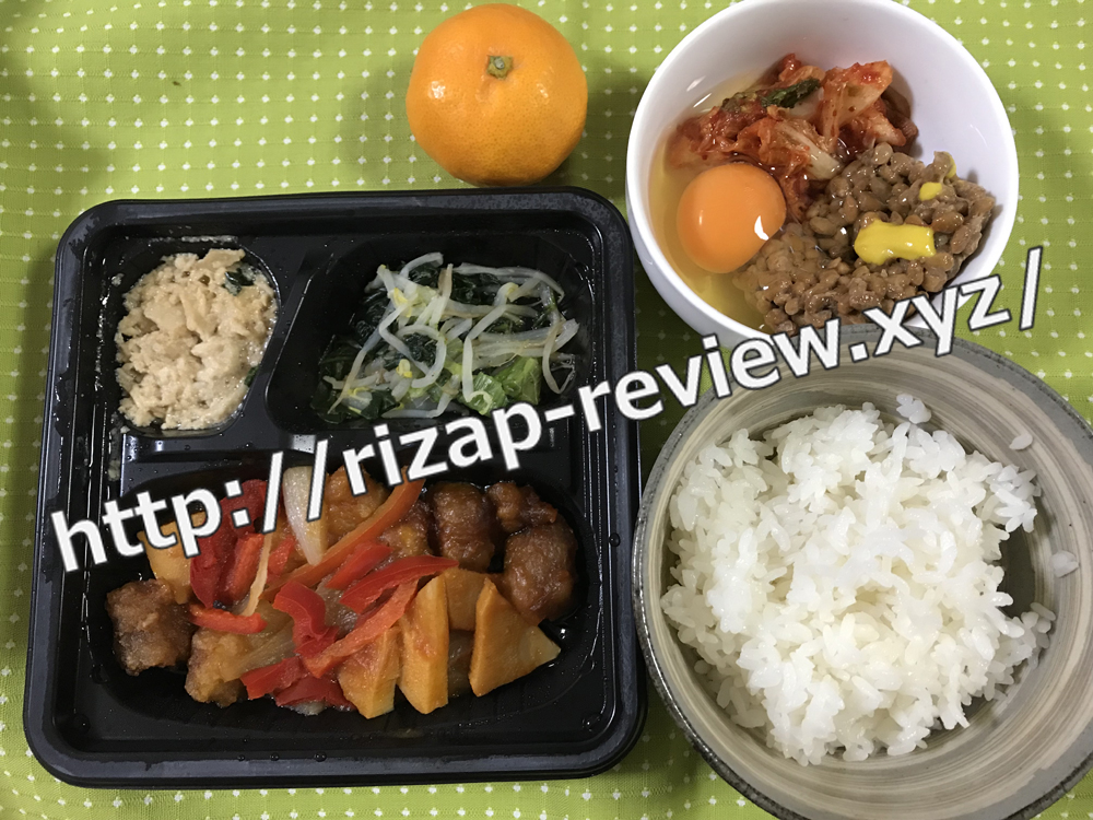 2018.12.3(月)ライザップ流の昼食