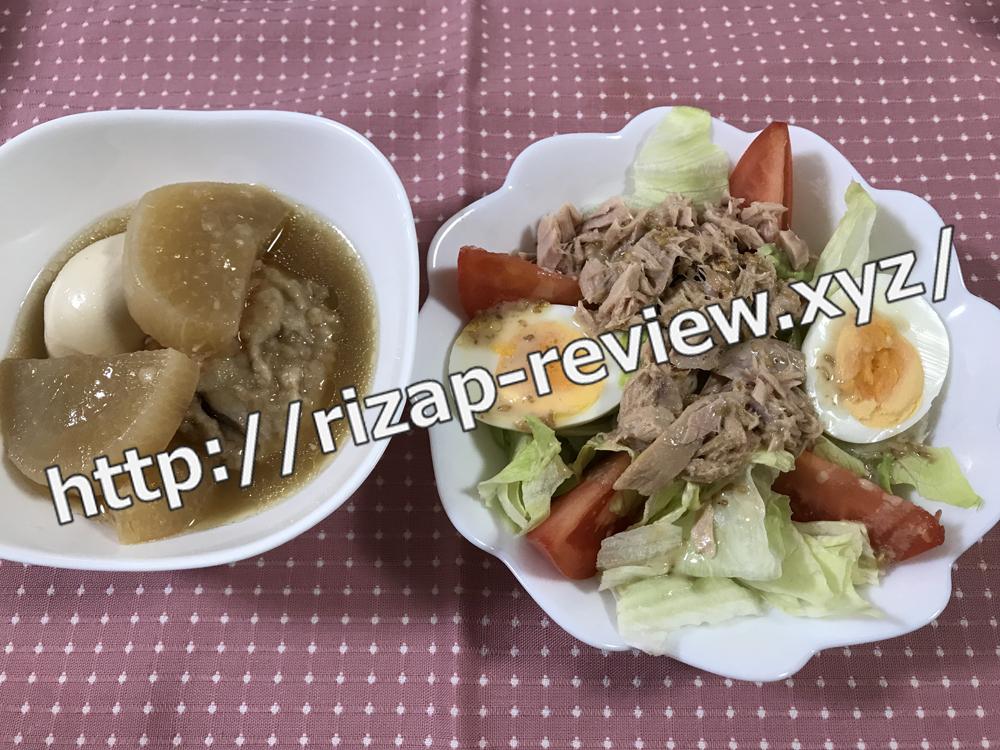 2018.12.29(土)ライザップ流の昼食