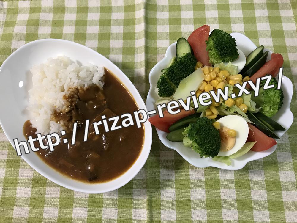 2019.1.21(月)ライザップ流の昼食
